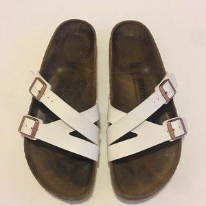 BIRKENSTOCK Leather Sandals Size 9